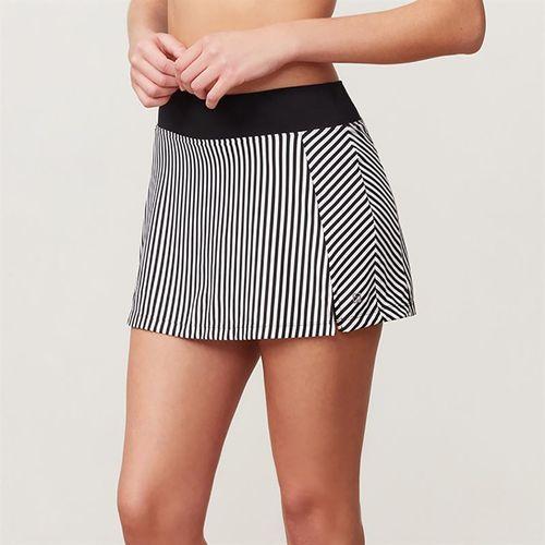 Fila Stripe 13.5 Inch Skirt - Black Stripe/Black