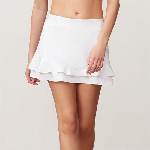d0b3ad9d08cdbb Fila Double Ruffle Skirt, TW191743 100 | Women's Tennis Apparel