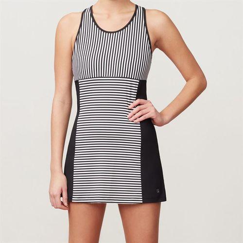 Fila Stripe Dress - Black Stripe/Black