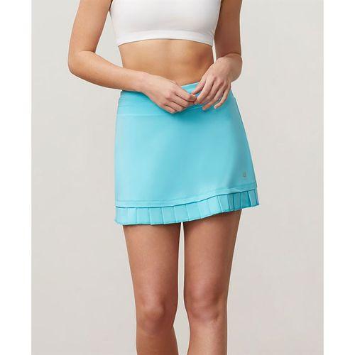 Fila Acqua Pleated Hem Skirt - Blue Curacao