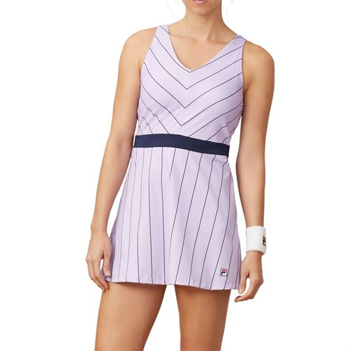 Fila Heritage Dress Womens Pastel Lilac/Navy TW932798 591