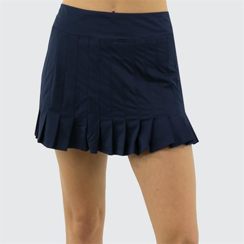 Fila Awning Pleated Skirt Womens Navy TW933493 412