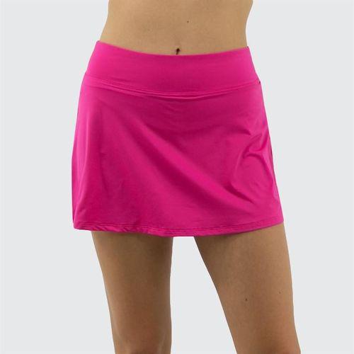 Fila Awning A Line Skirt Womens Fuchsia Purple TW933626 677