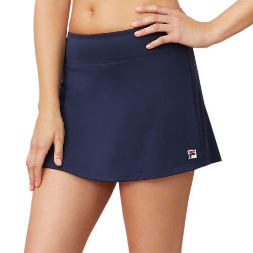 Fila Heritage Solid Skirt Womens Navy TW933647 412