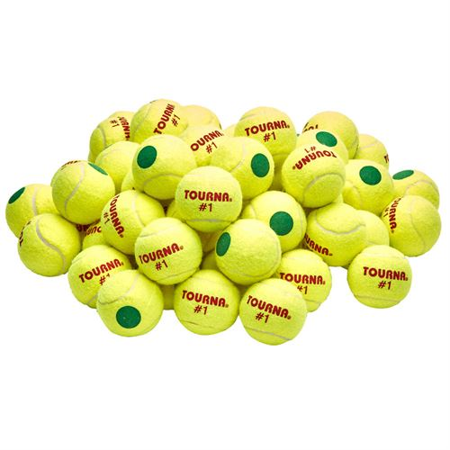 Tourna Green Dot Tennis Balls (60 pack)