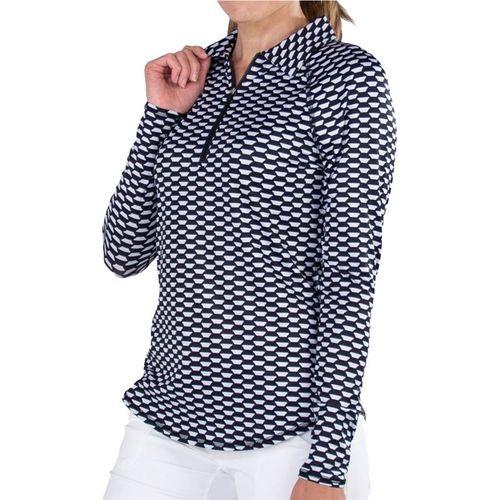 Jofit Key West UV Polo Shirt Womens Key West Print UT109 KWP