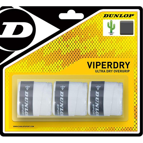 Dunlop Viper Dry Tennis Overgrip 3 Pack