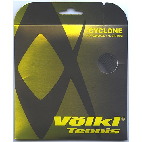Volkl Cyclone 17G Black Tennis String