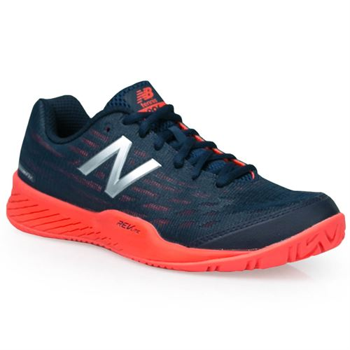 17b98caf9d4e2 New Balance WCH896 (B) Womens Tennis Shoe - Navy/Orange