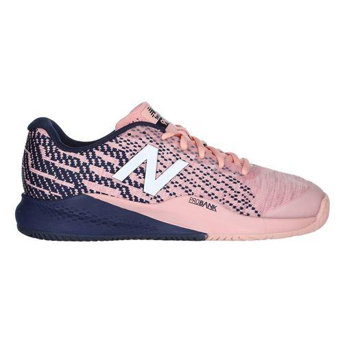 New Balance WC 996 (D) Womens Tennis Shoe - Light Pink/Navy/White