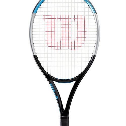 Wilson Ultra 100UL V3.0 Tennis Racquet Black/Silver WR036611U