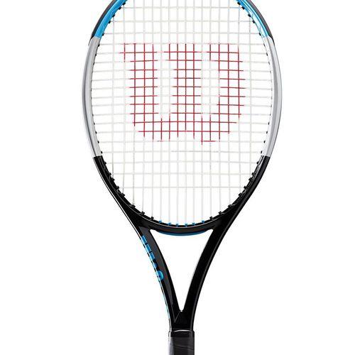 Wilson Ultra 100L v3 Tennis Racquet Black/Silver WR036511U
