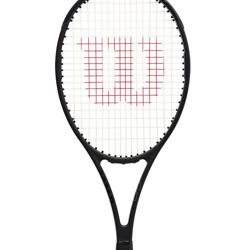 Wilson Pro Staff RF97 V13.0 Tennis Racquet Black/White WR043711Uû