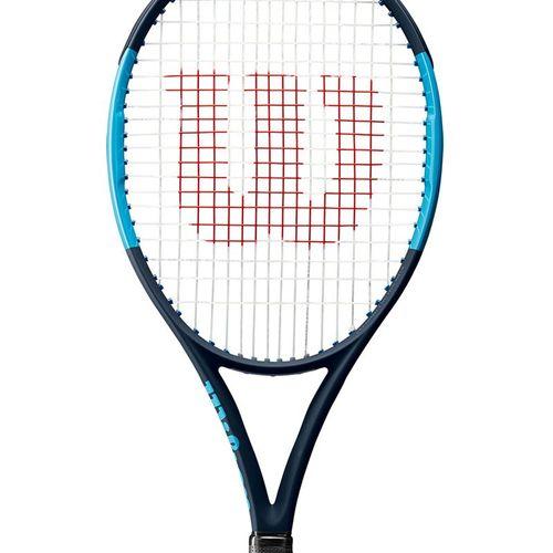 Wilson Ultra 100L V2 Tennis Racquet Black/Blue WR057111U
