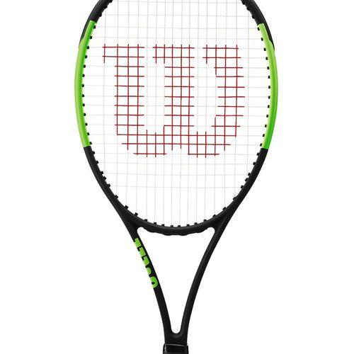 Wilson Blade 98 16x19 V6 Tennis Racquet Black/Green WR057211U
