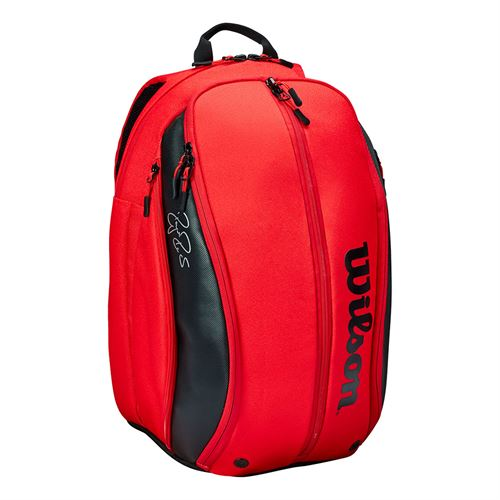 Wilson RF DNA Tennis Backpack - Red/Black