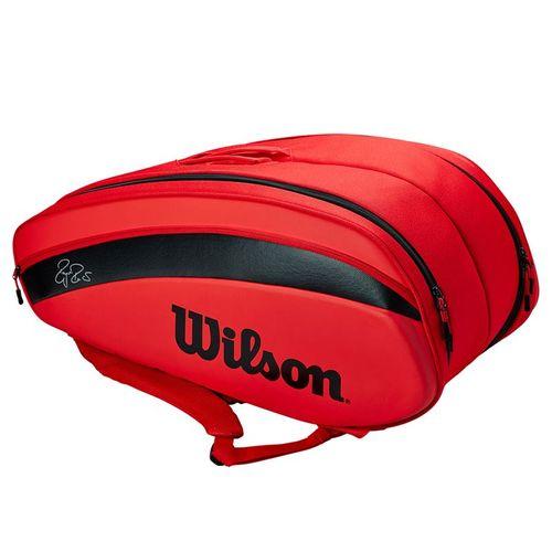 Wilson RF DNA 12 Pack Tennis Bag - Infrared