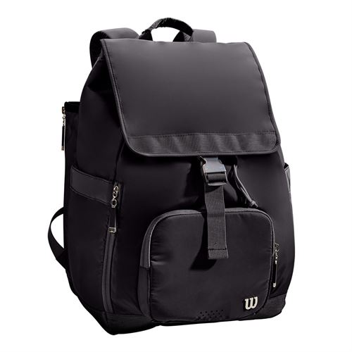 Wilson Fold Over Womens Tennis Backpack - Black