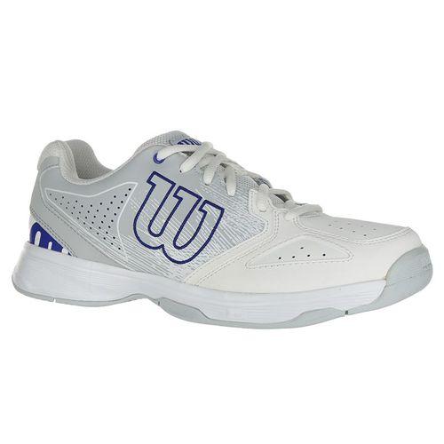 Wilson Stroke Junior Tennis Shoes - White/Blue