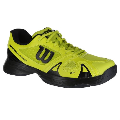 Wilson Rush Pro 2.5 Junior Tennis Shoe - Acid Lime/Black/Ebony