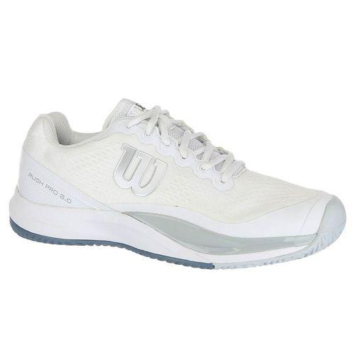 Wilson Rush Pro 3.0 Mens Tennis Shoe - White/Pearl Blue/Bluestone
