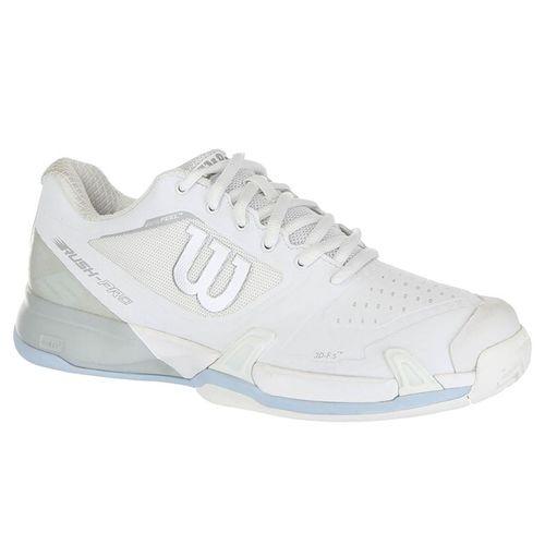 99583999bca6 Wilson Rush Pro 2.5 Womens Tennis Shoe 2019 - White  Pearl Blue Cashmere  Blue