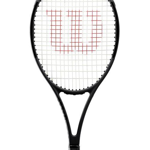 Wilson Pro Staff >> Wilson Pro Staff 97 Black Tennis Racquet