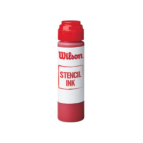 Wilson Stencil Ink Super Red