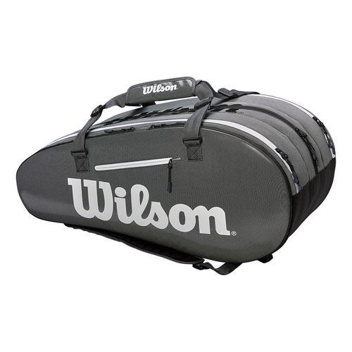 Wilson Super Tour 15 Pack Tennis Bag - Black/Grey