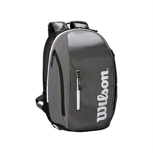 53718cff1d Wilson Super Tour Backpack - Black Grey