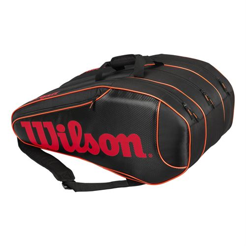Wilson Burn Team 12 Pack Tennis Bag
