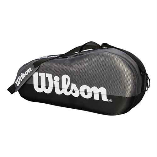 Wilson Team 3 Pack Tennis Bag - Grey
