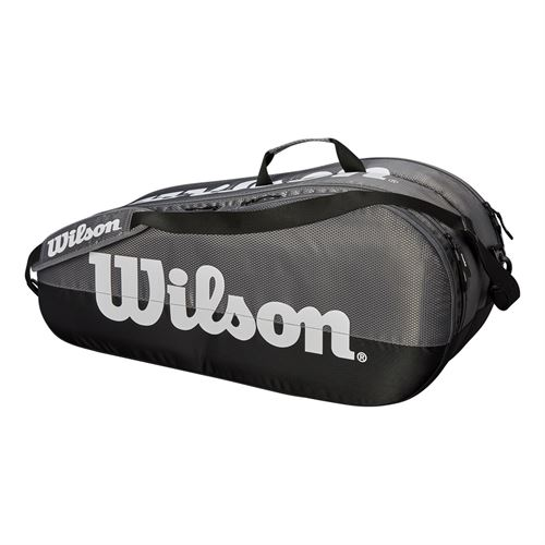 Wilson Team 6 Pack Tennis Bag - Grey