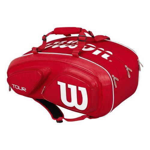 Wilson Tour V Red 15 Pack Tennis Bag