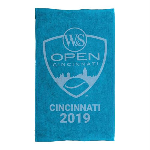 Western & Southern Open 2019 Logo Small Towel - Blue