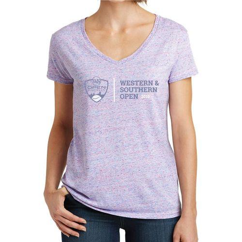 W&S Short Sleeve Tee Womens Purple/Pink WSTW19 04