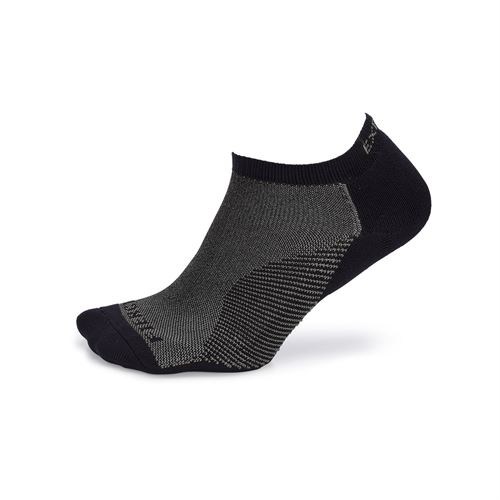 Thorlo Experia Fierce No Show Socks - Black/Grey
