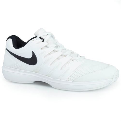 Nike Air Zoom Prestige Mens Tennis Shoe -White Black 00724d6c5