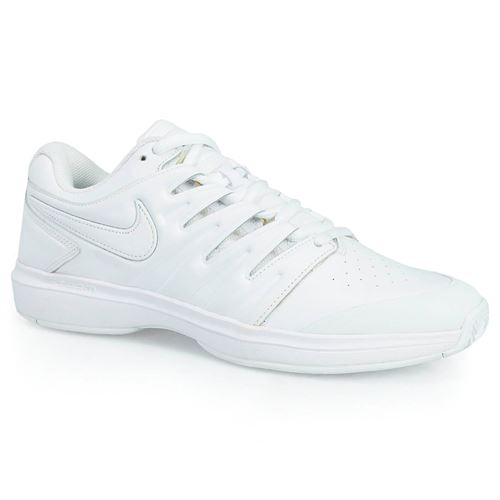 b28428b535c19 Nike Air Zoom Prestige Leather Mens Tennis Shoe - White Black