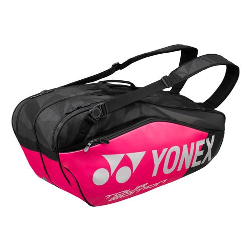 Yonex Pro Series 6 Pack Tennis Bag - Black/Pink