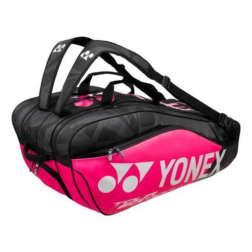 Yonex Pro Series 9 Pack Tennis Bag - Black/Pink