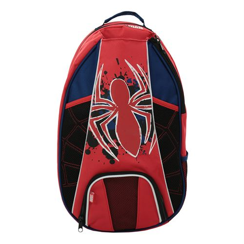 Spider Man Tennis Backpack- Red