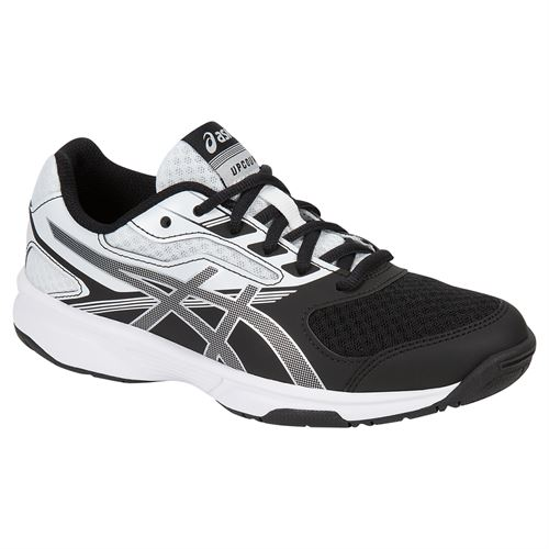 Asics Junior UpCourt 2 GS Tennis Shoe - White/Black