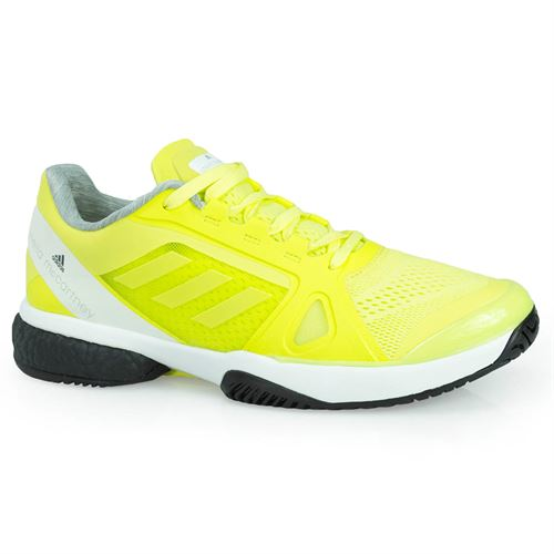 f7c038272b817d adidas Stella McCartney Barricade Boost Womens Tennis Shoe - Aero Lime  CM7804