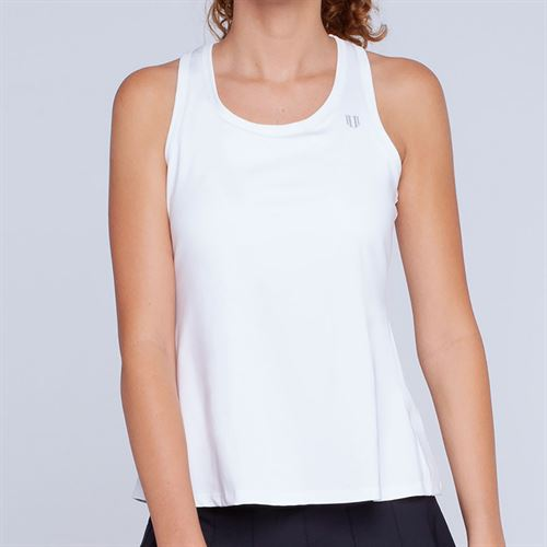 Eleven Race Day Tank Womens White CP3051 100