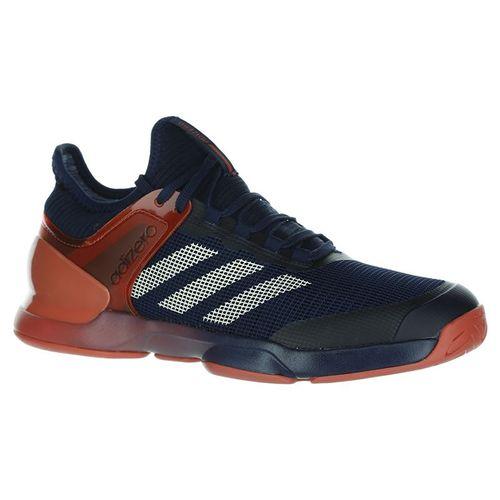 online store b5966 4f148 adidas adizero Ubersonic 2 Mens Tennis Shoe - Night NavyEcru TintTrace  Scarlet