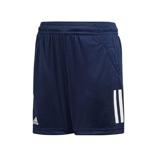 adidas Boys Club 3 Stripe Short - Navy