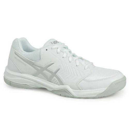 f0565e274bc Asics Gel Dedicate 5 Womens Tennis Shoe - White Silver