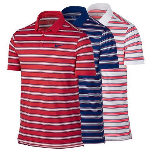 Nike Dry Striped Pique Polo