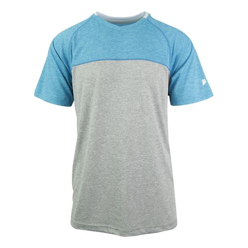 Prince Space Dyed Heather Crew - Alloy Heather
